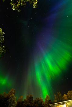 The first aurora borealis/northern lights capture of the season.