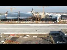 Watch LAX's New Tom Bradley Terminal renovation in time-lapse video