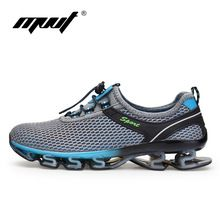 Cheap running shoes, Buy Quality running shoes men directly from China training shoes Suppliers: Super Cool breathable running shoes men sneakers bounce summer outdoor sport shoes Professional Training shoes plus size Light Running Shoes, Cheap Running Shoes, Trail Running Shoes, Road Running, Mens Running, Running Sports, Moda Sneakers, Sneakers Mode, Sneakers Fashion