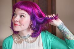 7 tips for maintaining bright hair color. I really, really wish I had the time to upkeep hair like this.