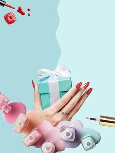 Para regalar o regalarte! Con esmaltado común o semipermanente! Nail Salon Design, Nail Salon Decor, Gel Nail Designs, Nail Logo, Magical Makeup, Pink Paper, Fabulous Nails, Nail Spa, Beauty Nails