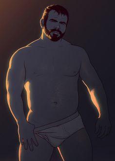 xavier md — Illustrations by leoleus Comic Art, Comic Books, Gay Comics, Art Of Man, Bear Cartoon, Anime People, Guy Drawing, Bear Art, Advertising Photography