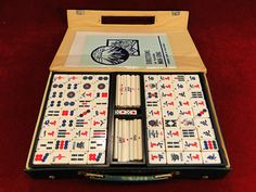 48) Vintage cased Mah-Jong set Est. £15-£20