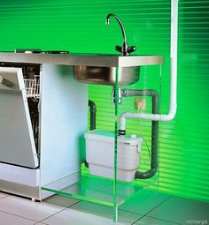 A dual water system where gray water can be used to flush the toilet or water the plants.  Imagine that.  Perfectly good drinking water shouldn't be used in a toilet.