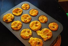 Breakfast Freezer Meals: Individual Quiche