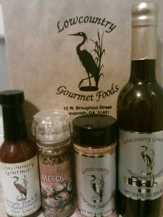 So many great finds at Low Country Gourmet Foods on Broughton Street!