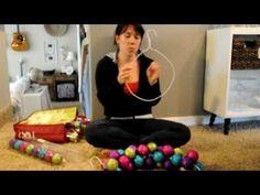 ▶ Domestic Fashionista: Ornament Wreath - YouTube