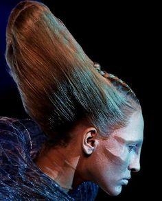 Alexander McQueen beauty looks, Dazed Digital