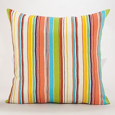 Buy the Afro Art Franca Stripe Cushion from Hus & Hem - This striking Franca cushion is inspired by the beautiful designs and colours of Mayan folk costumes. Scandinavian Cushions, Scandinavian Design, Striped Cushions, Striped Fabrics, Global Decor, Afro Art, World Market, Toss Pillows, Cushion Covers