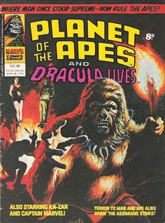 Cover for Planet of the Apes June 1976 #89