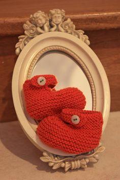 Petits chaussons - Coton fifty - Chat chiffonne