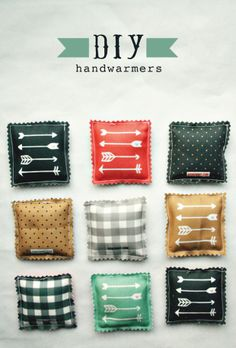 DIY Hand Warmers This is a must for my always-freezing hands in winter.