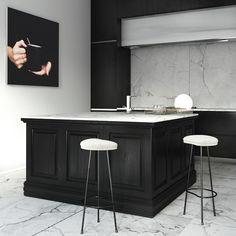 BEELDSTEIL.com Kitchen Art Inspiration - via Est Magazine #kitchen #art #photography