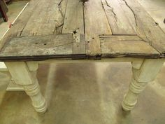 One Of My Amazing Collection Green Is Universe Farmhouse Dining Table Made From Reclaimed