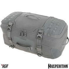 The IRONSTORM™ adventure travel bag from the AGR™ line has 3 methods of carry and features new zipper pulls and modular attachment lattice for extra storage. www.Maxpedition.com