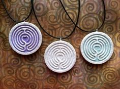 Carved in corian and also in wood! Labyrinth Quotes, Labyrinth Walk, Labrynth, Corian, Maze, Washer Necklace, Carving, Pendants, Salt Dough