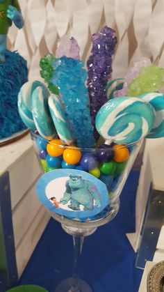 Monsters Inc Candy jars