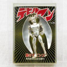 Retro Rare! Devilman Action Pins JAPAN ANIME MANGA NAGAI GO