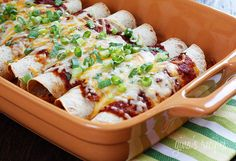 Skinny Chicken Enchiladas #chicken #enchiladas #mexican