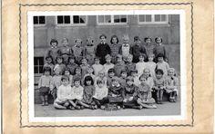 Photo de classe Cours préparatoire de 1963, Ecole Poincare (thionville)