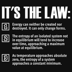 """law of thermodynamics 