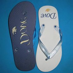 It's a good promotional product for summer holiday. Can custom size and color ,you also can specify the debossing logo on 1.5cm sole. When they wear the flip flops on the beach, your brand will be clearly showed there. Large space for your logo which is very great for adversting.