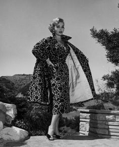 Zsa Zsa Gabor, ca. 1950's:  Stunning Vintage Photos -  from #InStyle