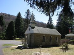 """This claimant to the title of """"smallest church in the 48 states"""" doubles as an equally tiny, quasi-post office"""