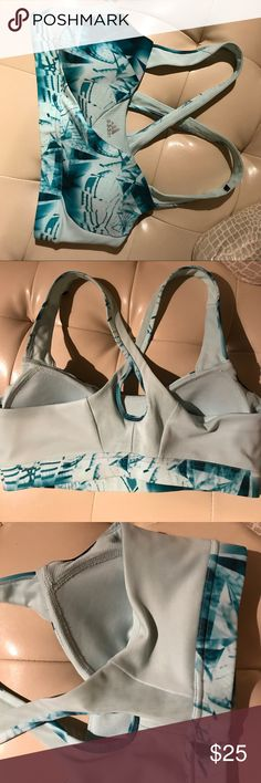 Adidas supernova sports bra Worn once in mint condition. Size med but fits a small or med 36b cup. adidas Tops