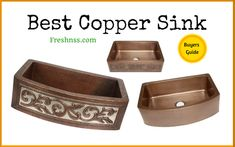 8 Best Copper Sink, Plus 2 to Avoid Buyers Guide 8 Best Copper Sink, Plus 2 to Avoid Buyers Guide 7 Best Kitchen Faucet for Farmhouse Sink, Plus 1 to Avoid B.