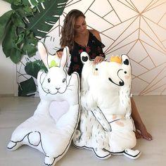 Hot Sale Baby Gift Fox Rabbit Baby Playmat Back Cushion