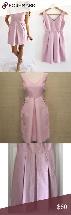 "810ca58384 Crew bridesmaid dress J.Crew ""Kami"" bridesmaid dress Bought brand new and  worn once then dry cleaned Size 20 No alterations made to this dress Color  is ..."