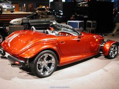 """The Plymouth Prowler, later the Chrysler Prowler, is a """"retro"""" styled production car built in 1997 and 1999-2002. The Prowler was based on the 1993 concept car of the same name."""