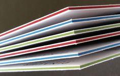 Cartes épaisses tranches couleur Printer, Carte De Visite, Cards, Lush, Color, Printers