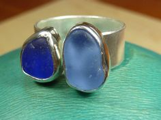 Seaglass Jewelry ring