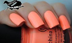 "China Glaze ""Son of a Peach!"" VS China Glaze ""Flip Flop Fantasy"" What's the difference? Peach Nail Polish, Peach Nails, Polish Nails, Nail Polishes, Great Nails, Cute Nails, Pretty Nail Designs, Nail Art Designs, Hair And Nails"