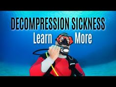 A new take on decompression sickness Decompression Sickness, Toil And Trouble, Physiology, Training Programs, Dan, Medical, Education, Learning, Youtube
