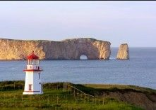 Gaspe, Quebec - Its where my pepere was born. I'd like to go there someday.