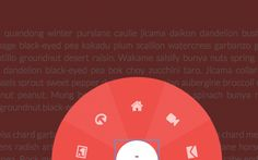 jQuery Circular Navigation with HTML5 CSS3 transforms by Tympanus