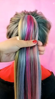 has just created an awesome short video with original sound - diy. has just created an awesome short video with original sound - diy. beautiful hair tutorial by ❤️😊 Peinados Fácil y creativo Simple and artistic hairstyles, Pretty Hairstyles, Girl Hairstyles, Braided Hairstyles, Hairstyles Videos, Bun Hairstyles For Long Hair, School Hairstyles, Casual Hairstyles, Medium Hairstyles, Latest Hairstyles