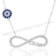 Gümüş Sonsuzluk CanımYazılı Kolye -  - Price : TL69.90. Buy now at http://www.teleplus.com.tr/index.php/gumus-sonsuzluk-canimyazili-kolye.html