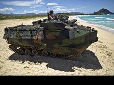 U.S. Marine Amphibious Assault Vehicle   Marines And Australian Troops Conduct Amphibious Assault Training ...