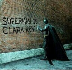 Batman...bad confidence...