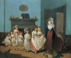 The Romps, William Redmore Bigg, 1790s (?), Leeds Museum and Galleries
