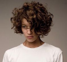 Goal, grow out my pixie into this beautiful curly bob.                                                                                                                                                                                 More