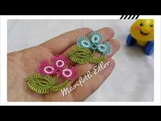 Mekik Oyası Çok Hoş Bir Modelin Anlatımlı Yapılışı - YouTube Needle Tatting, Tatting Lace, Needle Lace, Crochet Flower Tutorial, Crochet Flowers, Tatting Necklace, Tatting Patterns, Lace Embroidery, Lace Making