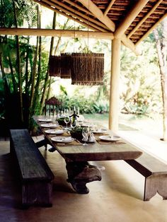 Villa at Casa Uxua Hotel in Trancoso #brazil #beach