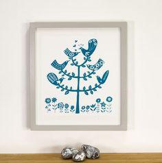 Love Birds Limited Edition Silkscreen Print
