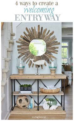 4 Ways to Create a Welcoming Entryway