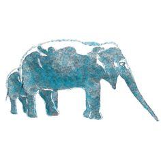 Aqua Elephas | Papeles pintados | Wall&decò